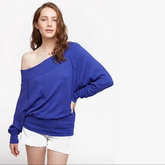 0217e511f304ef FREE PEOPLE Palisades Thermal Blue NWT
